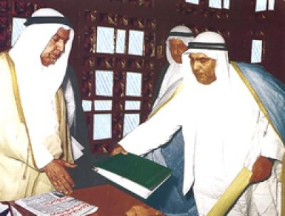 Übergabe des Verfassungsentwurfs